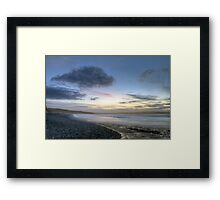 Down By The Water Landscape Framed Print