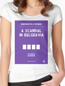 BBC Sherlock - A Scandal in Belgravia Minimalist Women's Fitted Scoop T-Shirt