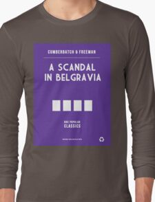BBC Sherlock - A Scandal in Belgravia Minimalist Long Sleeve T-Shirt
