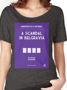 BBC Sherlock - A Scandal in Belgravia Minimalist Women's Relaxed Fit T-Shirt