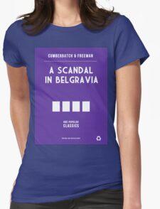 BBC Sherlock - A Scandal in Belgravia Minimalist Womens Fitted T-Shirt