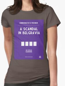 BBC Sherlock - A Scandal in Belgravia Minimalist Womens Fitted T-Shirt