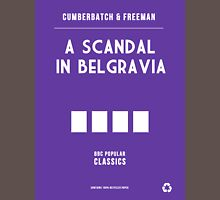 BBC Sherlock - A Scandal in Belgravia Minimalist Unisex T-Shirt
