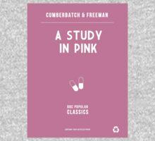 BBC Sherlock - A Study in Pink Minimalist T-Shirt