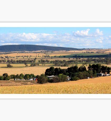 Australian Landscape Sticker