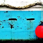 Red Buoy, Blue Boat. by ThePigmi