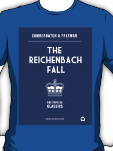 BBC Sherlock - The Reichenbach Fall Minimalist T-Shirt