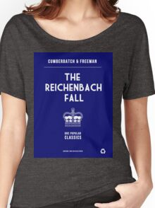 BBC Sherlock - The Reichenbach Fall Minimalist Women's Relaxed Fit T-Shirt