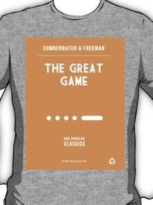 BBC Sherlock - The Great Game Minimalist T-Shirt