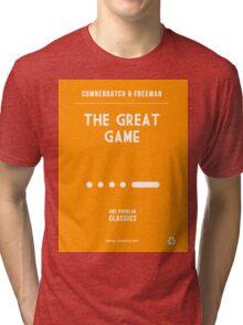 BBC Sherlock - The Great Game Minimalist Tri-blend T-Shirt