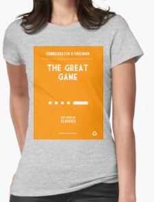 BBC Sherlock - The Great Game Minimalist Womens Fitted T-Shirt