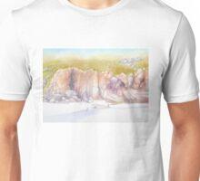 Porthcurno cliffs Unisex T-Shirt