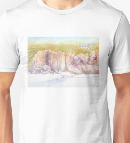 Porthcurno cliffs Unisex T-Shirt