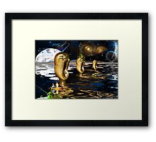 Encounter on the 2nd World of Tauri  Framed Print