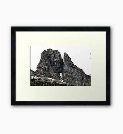 Gorgeous Sentinels Framed Print