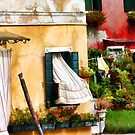 "Burano Curtains by Christine ""Xine"" Segalas"