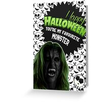 Halloween Villain League [Teen Wolf's Kate Argent] Greeting Card
