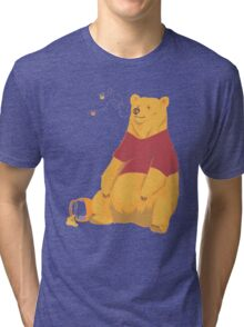 Pooh at the Zoo Tri-blend T-Shirt