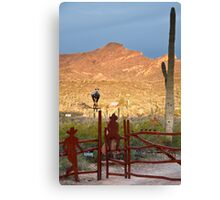 Desert Ranch Canvas Print
