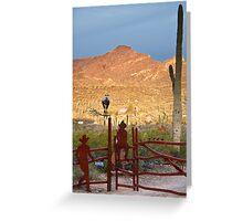 Desert Ranch Greeting Card