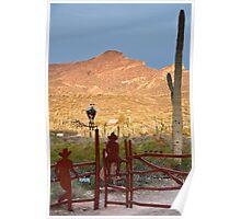 Desert Ranch Poster