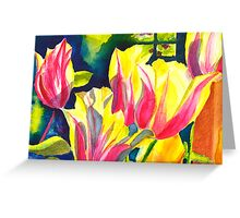Tulip Parade Greeting Card