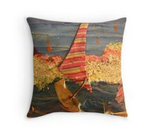 WILD WEST PANTS PARTY *party in the surf 16 'far too hot' Throw Pillow