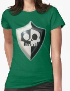 Sir Dan's Shield. Womens Fitted T-Shirt