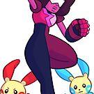 Pokemon Trainer Garnet by echidnite