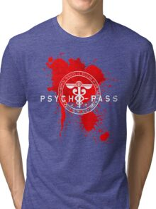 Psycho-Pass Logo Tri-blend T-Shirt