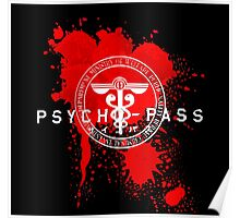Psycho-Pass Logo Poster
