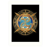 The Guild Seal (Fable) Art Print