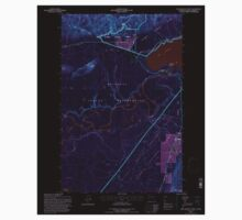USGS Topo Map Washington State WA Lake Quinault West 241897 1995 24000 Inverted One Piece - Short Sleeve