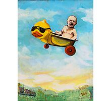 rubber duck & baby fantasy oil painting Photographic Print
