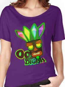 'OOBIDIGAH' Women's Relaxed Fit T-Shirt