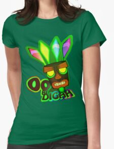 'OOBIDIGAH' Womens Fitted T-Shirt