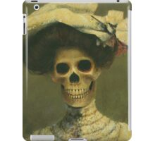 The Late Miss Victorian Gothic iPad Case/Skin