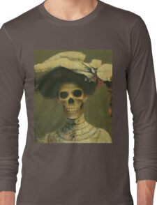 The Late Miss Victorian Gothic Long Sleeve T-Shirt