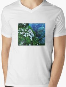 Angel Mens V-Neck T-Shirt