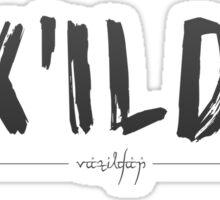 Critical Role - Vax'ildan (Character Names) Sticker
