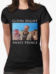 Good Night Sweet Prince Womens Fitted T-Shirt