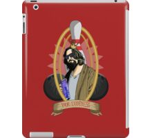 Your Dudeness iPad Case/Skin