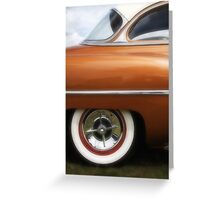 Brown Beauty Card Greeting Card