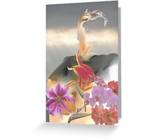 Flower Madonna Greeting Card