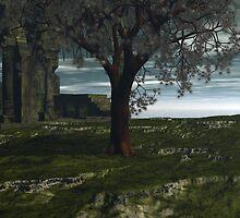 Last Mangrove In Trefegnar Swamp by Sazzart