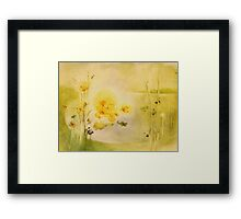 and the world turns full cycle Framed Print