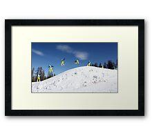 Snowboarding Italy Framed Print