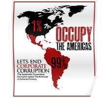 OCCUPY THE AMERICAS  Poster