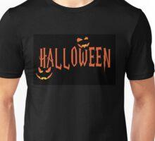 Halloween Orange Unisex T-Shirt