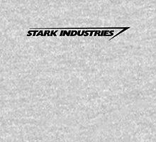 Stark Indus. Black T-Shirt